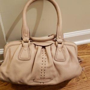 Cole Haan small triple zip satchel